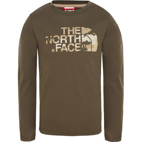 The North Face Easy T-shirt à manches longues Fille, new taupe green